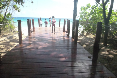 boardwalk - grand anse